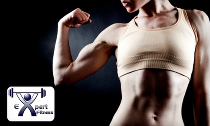 Expert Fitness in Midland - Colony Place: $25 for 30 Days of ROM Quick Gym (Up to $50 Value) or $100 for a One-Month Personal Training Package ($300 Value) at Expert Fitness.