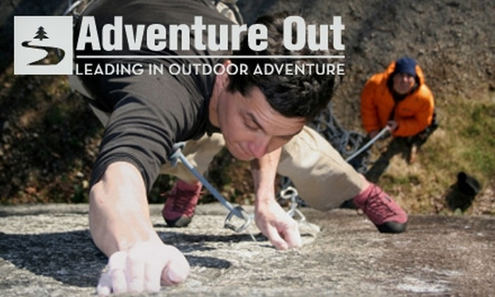 Adventure Out - San Lorenzo Valley: $42 for a Four-Hour Introductory Rock-Climbing Course and Guided Outdoor Climb with Adventure Out ($85 Value)