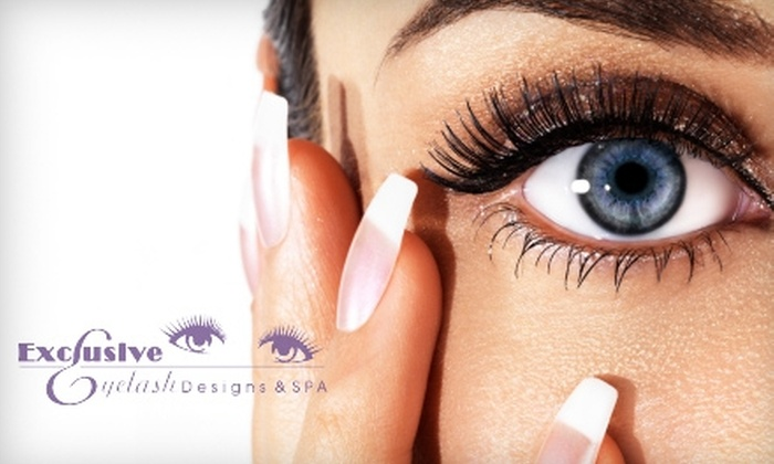 Exclusive Eyelash Designs & Spa - Richmond Heights: $35 for a Brazilian or Guyzillian Wax (Up to $70 Value) or $17 for a Standard Bikini Wax ($35 Value) at Exclusive Eyelash Designs & Spa in Richmond Heights
