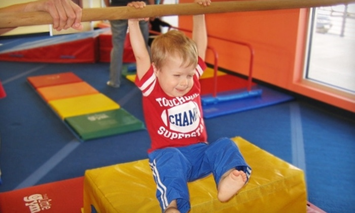 The Little Gym of Greenville  - Greenville: $30 for Four Children's Classes at The Little Gym of Greenville ($60 Value)