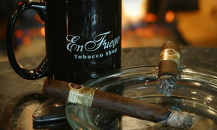 En Fuego Tobacco Shop - Frisco Square: Cigars and Accessories at En Fuego Tobacco Shop in Frisco (Half Off). Two Options Available.
