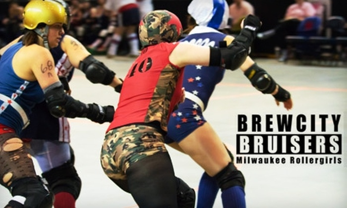 Brewcity Bruisers - Kilbourn Town: $15 for Two Tickets to the Brewcity Bruisers on February 20 (Up to $36 Value)