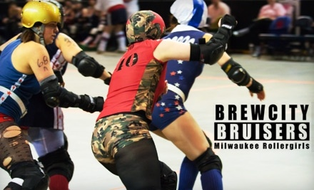 Maiden Milwaukee vs. Shevil Knevils and Crazy Eights vs. Rushin Rollettes on Sun., Feb. 20 at 3PM - Brewcity Bruisers in Milwaukee