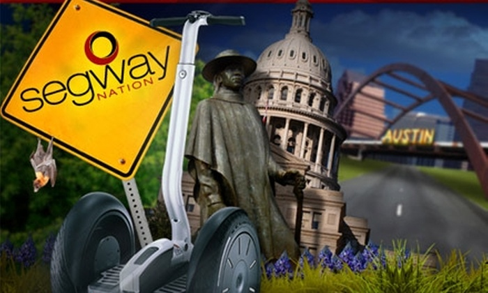 Segway Nation - Austin: $35 for A Ghost Tour from Segway Nation ($75 Value)