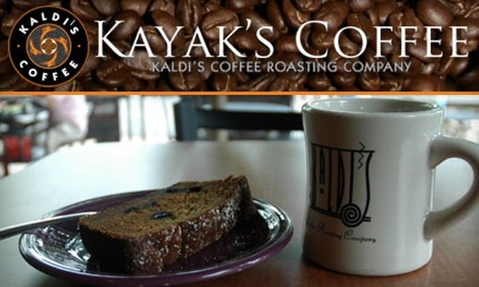 Kayak's Coffee & Provisions - Skinker DeBaliviere: $5 for $10 Worth of Coffee, Breakfast Eats, Sandwiches, and More at Kayak's Coffee & Provisions