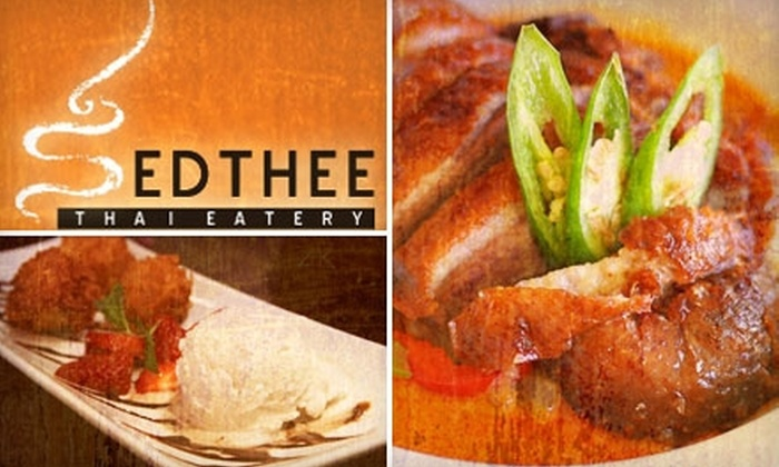 Sedthee Thai Eatery - City Center: $20 for $40 Worth of Upscale Dining at Sedthee Thai Eatery in Glendale