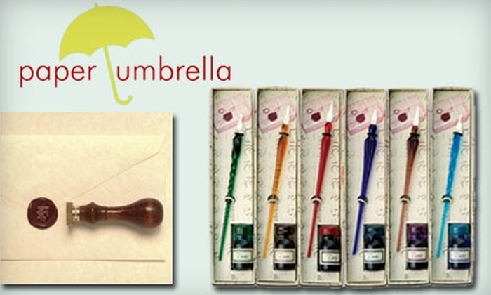 Paper Umbrella - Cathedral: $10 for $20 Worth of Stationery and Gifts at Paper Umbrella in the Cathedral Village Community