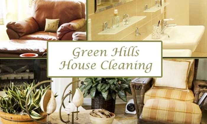 Green Hills House Cleaning - Acklen Westgrove: $60 for Five-Room Clean from Green Hills House Cleaning. Buy Here for Five Rooms. See Below for Eight-Room Clean.