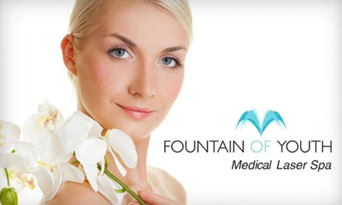 Fountain of Youth Medical Laser Spa - Muskego: $50 for an Express Facial and a 50-Minute Massage at Fountain of Youth Medical Laser Spa in Muskego ($105 Value)
