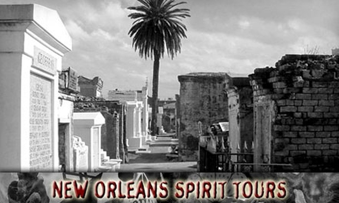 New Orleans Spirit Tours - Multiple Locations: $15 for Admission for Two to a Haunted Walking Tour from New Orleans Spirit Tours (Up to $32 Value)