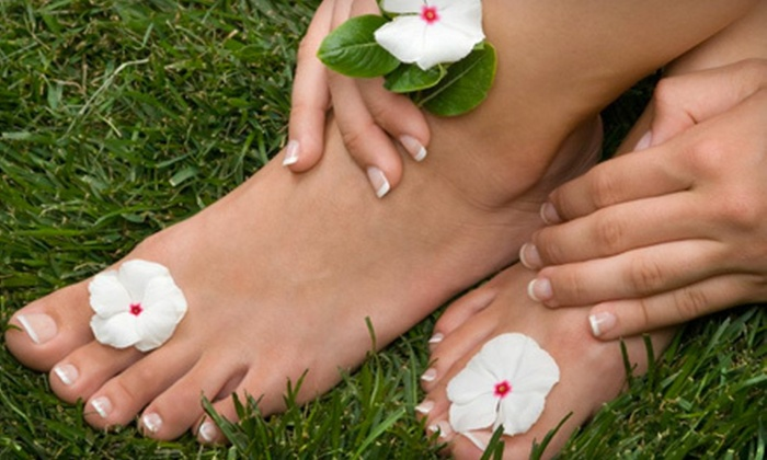 Parisian Spa - Regency: $30 for a Shellac Manicure and Mademoiselle Pedicure at Parisian Spa (Up to $70 Value)
