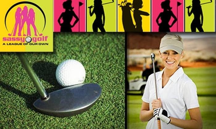 Sassy Golf - Denver: $69 for Golf Membership with Sassy Golf ($169 Value)