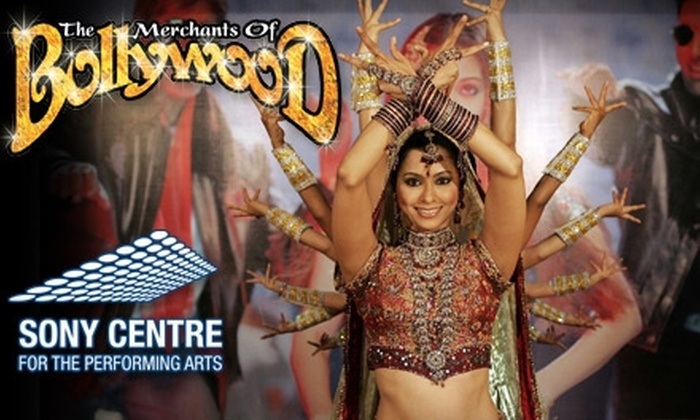 """Sony Centre - Downtown Toronto: $45 for One Orchestra or Balcony Seat to """"The Merchants of Bollywood"""" (Up to a $94 Value) at the Sony Centre. Choose from Seven Performances."""
