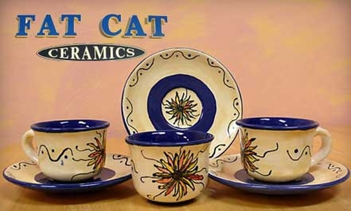 Fat Cat Ceramics - 2: $10 for $20 Worth of Paint-Your-Own Ceramics at Fat Cat Ceramics