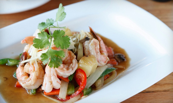 Lantern Thai - East Village: $25 for Thai Meal for Two with Appetizers, Entrees, and Drinks at Lantern Thai (Up to $62 Value)
