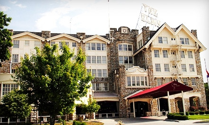 The Elms Resort & Spa - Excelsior Springs: $69 for a Deluxe Room for Two at The Elms Resort & Spa in Excelsior Springs ($139 Value)