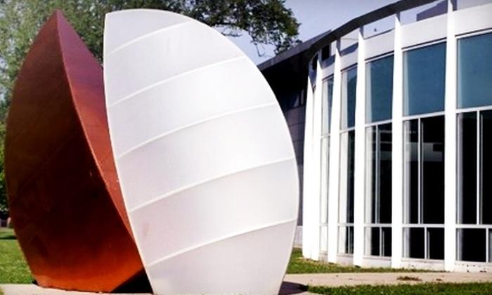 Elmhurst Art Museum - Elmhurst: $20 for an Individual Membership ($40 Value) or $27 for a Family Membership ($55 Value) to the Elmhurst Art Museum