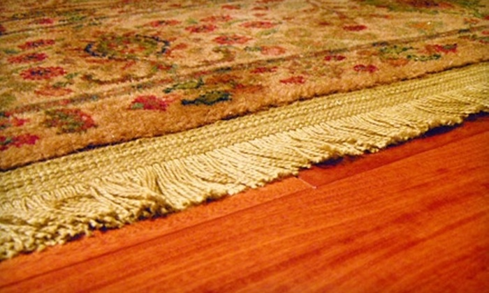 Magic Carpet - Downtown Nashville: $85 for Carpet Cleaning and Protectant Application for Two Rooms, and Cleaning of Two Air Ducts from Magic Carpet ($220 Value)