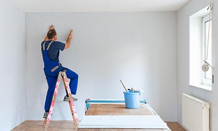 Alba Color - Villanueva de la Cañada: 2 capas de pintura en paredes y techos de hasta 150 m² de suelo desde 159 € en toda la Comunidad de Madrid