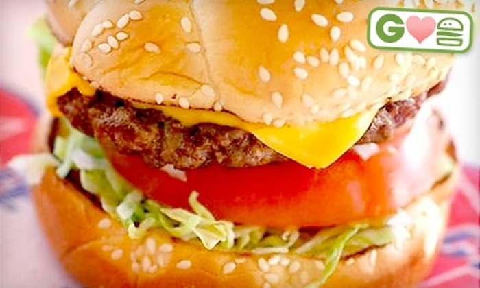 US Cafe - Atlanta: $5 for Two Super US Burgers at US Cafe ($10.98 Value)