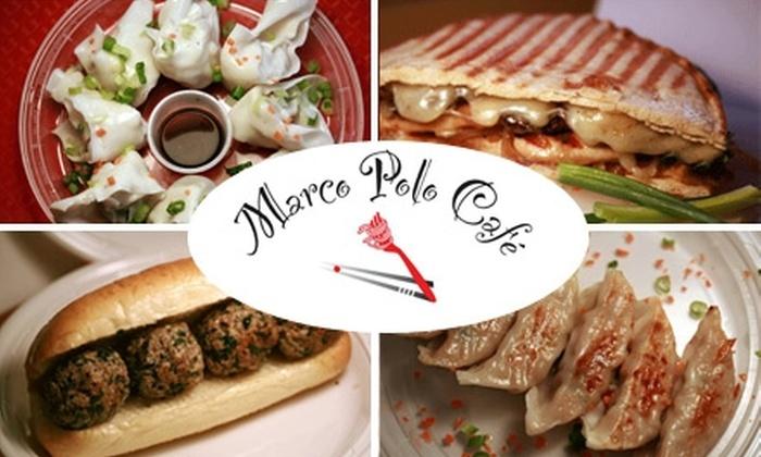 Marco Polo Café - East Village: $3 for $7 Worth of Italian-Asian Fusion at Marco Polo Café