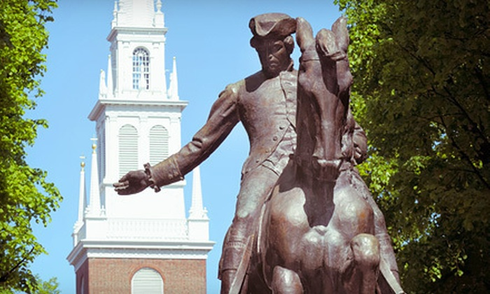 HipHost Local Tours: Historic Pizza, Beer, and Paul Revere Walking Tour for 1 or 10 from HipHost (Half Off)