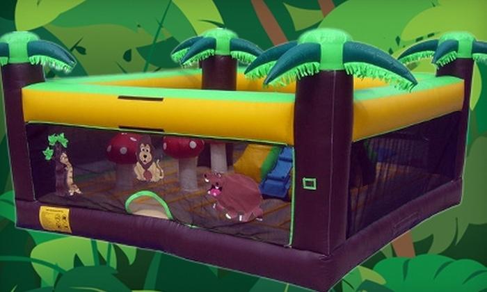 Jumble Jumps - Marietta: $30 for 10-Jump Pass for Kids Ages 3–12 ($70 Value) or $15 for 10-Jump Pass for Kids Ages 2 and Younger ($50 Value) at Jumble Jumps in Marietta