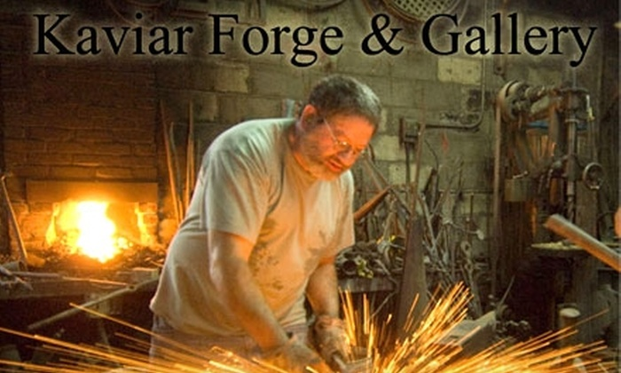 Kaviar Forge & Gallery - Clifton: $12 for Admission for Two to the Kaviar Forge Tour at Kaviar Forge & Gallery ($24 value)