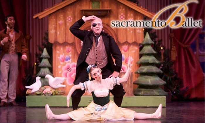 "Sacramento Ballet - Downtown: $24 for One Orchestra Ticket to The Sacramento Ballet's ""The Nutcracker"" on Dec. 10 (Up to $59 Value)"