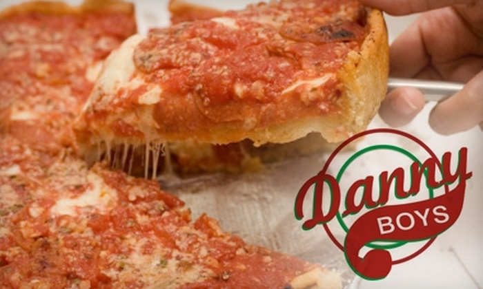 Danny Boy's Italian Eatery  - Multiple Locations: $10 for $20 Worth of Pizza and Italian Fare at Danny Boy's Italian Eatery