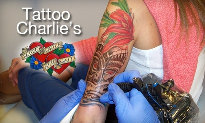 d2f356f23 51% Off at Tattoo Charlie's in Louisville or Lexington