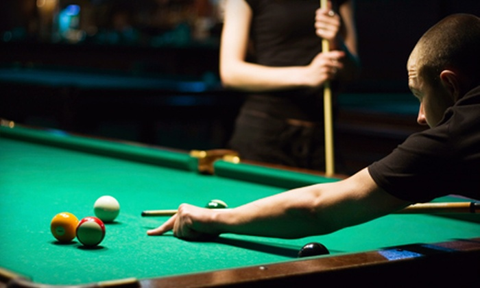 Danny Greens Billiards Bar - Toronto: Three Hours of Billiards Table Time for Up to Two or Four Plus Food Vouchers at Danny Greens Billiards Bar (Up to 69% Off)