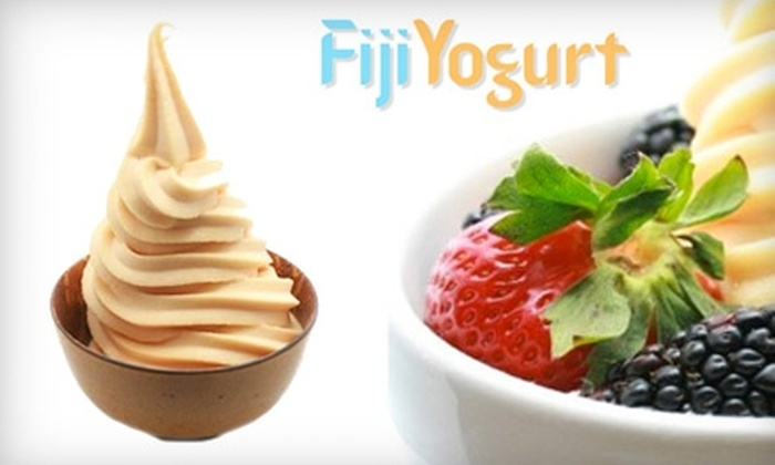 Fiji Yogurt - Multiple Locations: $10 for $22 Worth of Frozen Treats at Fiji Yogurt