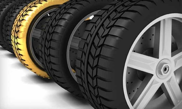 Tire Mart - Mount Pearl: $34 for a Wheel Alignment at Tire Mart ($69.95 Value)