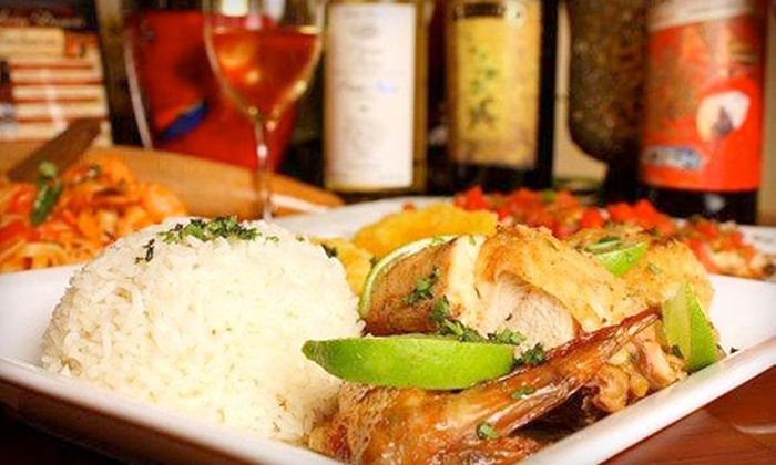 Tamboras Grill Cafe - Reserve at Belmere: Two-Course Latin Fusion Meal and Drinks for Two, Four, or Six at Tamboras Grill Cafe in Ocoee