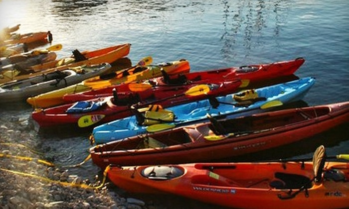 Austin Canoe & Kayak - Multiple Locations: $15 for a 24-Hour Single-Kayak Rental ($30 Value) or $20 for a 24-Hour Tandem-Kayak Rental ($40 Value) at Austin Canoe & Kayak