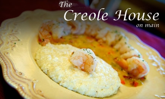 The Creole House - Cornelius: $15 for $30 Worth of Louisianan Cuisine at The Creole House