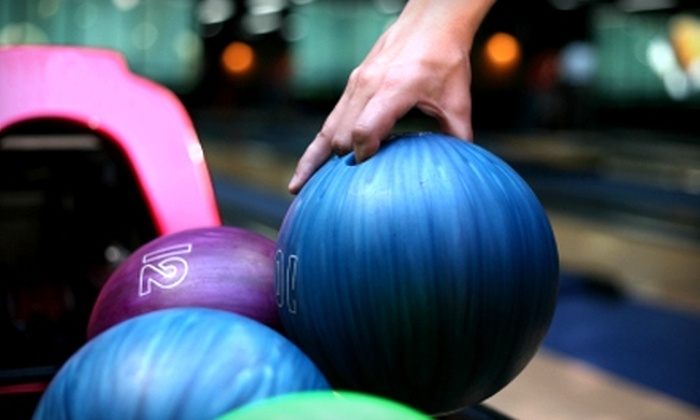 Playdrome Bowling & Entertainment Center - Ellisburg: $39 for Two Hours of Bowling and Shoes for Up to Six Plus 30 Game Tokens at Playdrome Bowling & Entertainment Center in Cherry Hill
