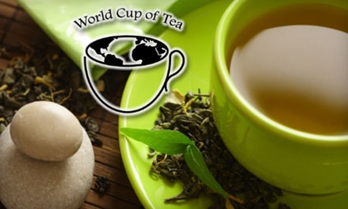 World Cup of Tea - Franklin: $10 for $20 Worth of Tea and Tea-Related Products at World Cup of Tea