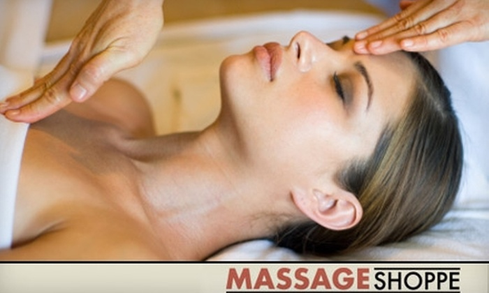 Massage Shoppe - Multiple Locations: $24 for a 50-Minute Relaxation Massage from Massage Shoppe ($49 Value)