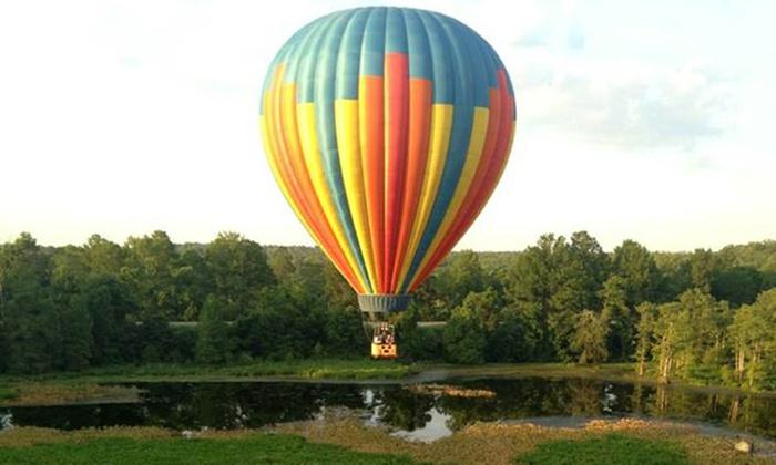 Coastal Balloons - Coastal Balloon Advetures: $399 for a Hot Air Balloon Ride for Two from Coastal Balloons ($798 Value)