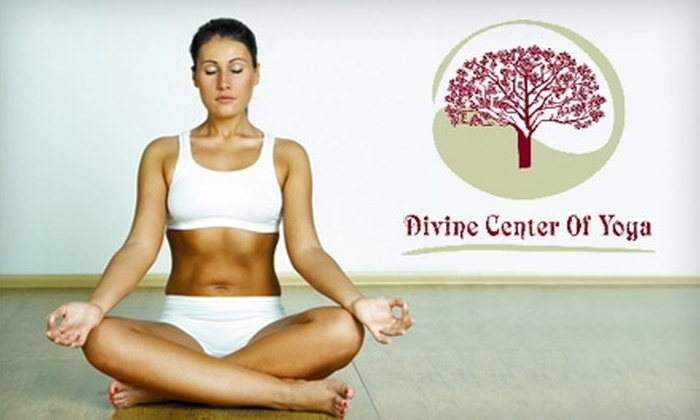 Divine Center of Yoga - Southlake: $30 for 30 Days of Classes at Divine Center of Yoga in Southlake