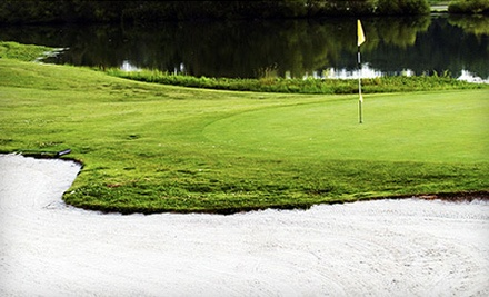 18-Hole Round of Golf for 2 People With Cart (an $86 value) - Saddle Creek Golf Course in Lewisburg