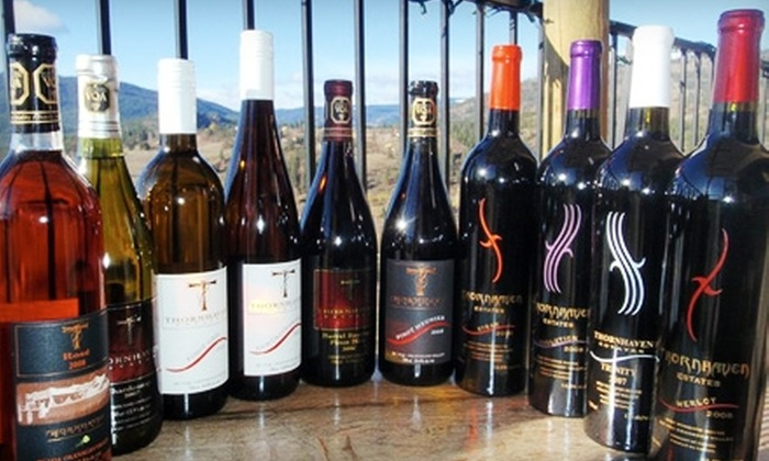 Thornhaven Estates Winery - Summerland: $18 for Two Bottles of Selected Wines at Thornhaven Estates Winery in Summerland (Up to $35.80 Value)