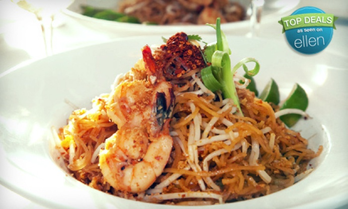 Sala Restaurant - The Waterfront: $39 for a Prix Fixe Thai-Seafood Meal with Appetizer and Drinks for Two at Sala Restaurant (Up to $96 Value) in Hercules