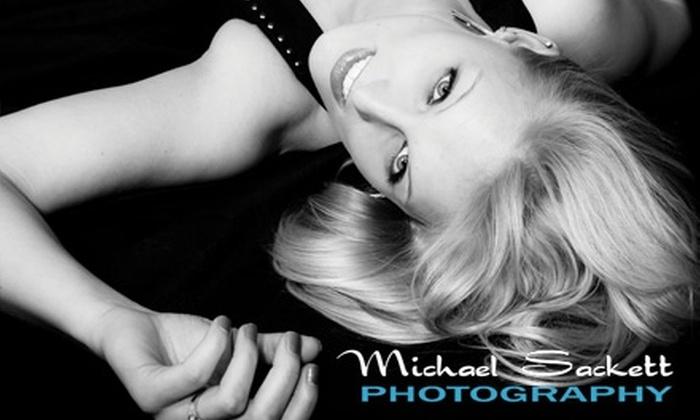 Michael Sackett Photography - Royal Oak: $50 for a Boudoir Photography Package from Michael Sackett Photography