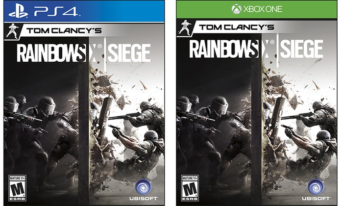 Tom Clancy Games For Ps4 : Rainbow six siege groupon goods