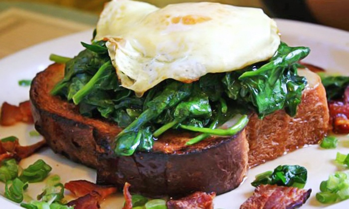 Over Easy Scottsdale - North Scottsdale: Breakfast Food at Over Easy (Up to 35% Off). Two Options Available.