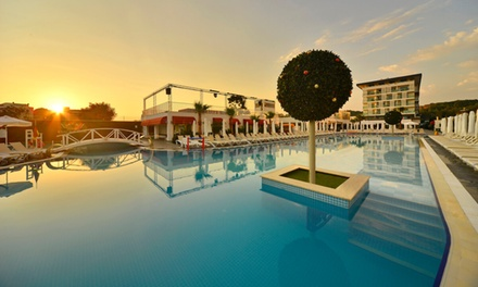 Turkey: 7Night Stay for Two with All Inclusive, Airport Transfers, Beach Pavilion at 5* White City Resort Hotel