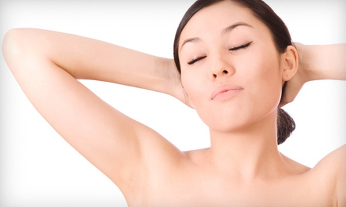 O Spa - Multiple Locations: Six Laser Hair-Removal Treatments for a Small, Medium, or Large Area or the Whole Body at O Spa (Up to 87% Off)